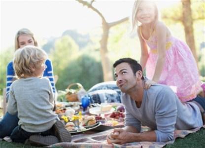 Идеальный весенний пикник