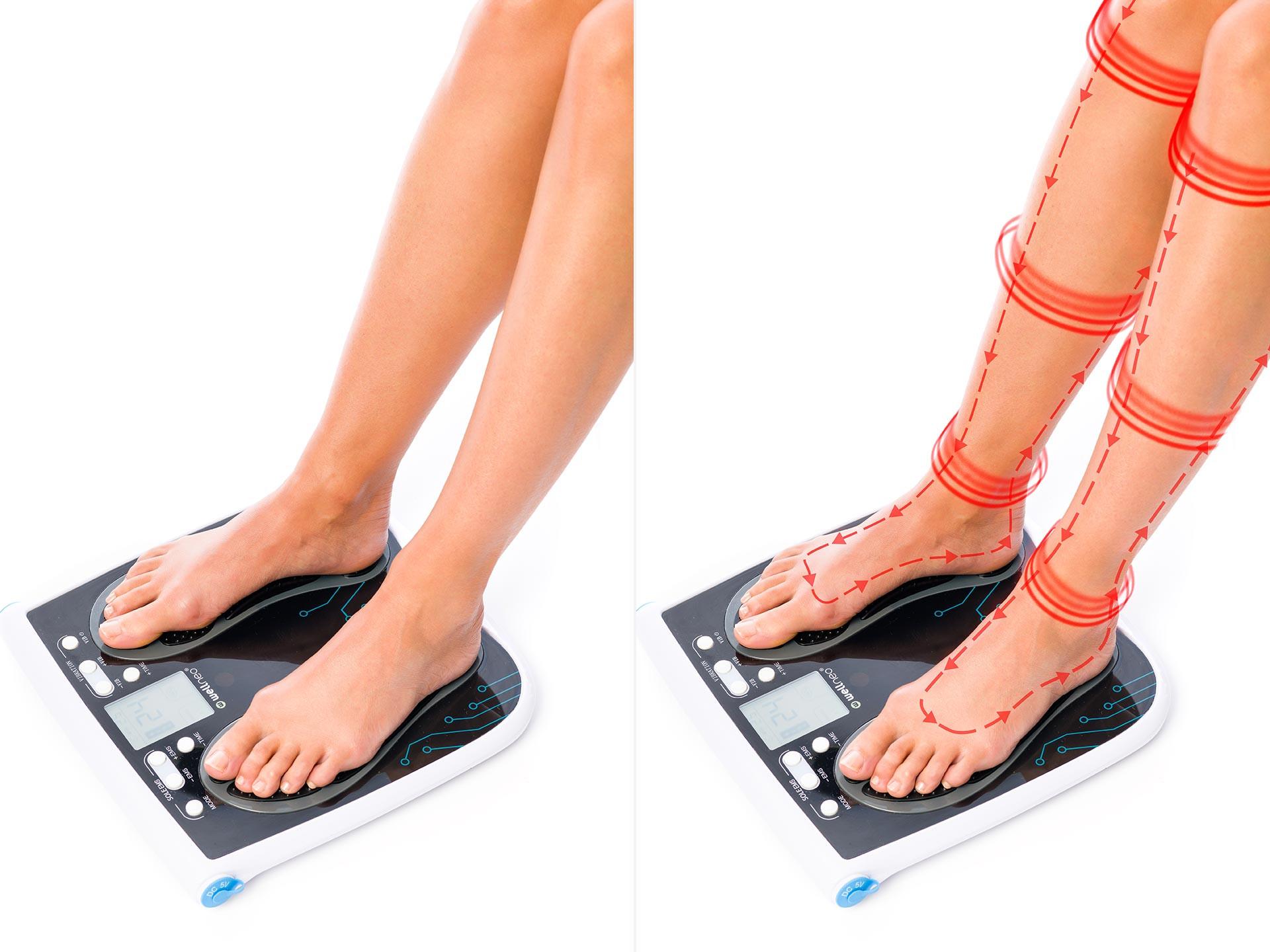 Wellneo массажер для ног нижнее белье женское ангела