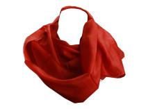 Шелковый платок кораллового цвета Oh La La