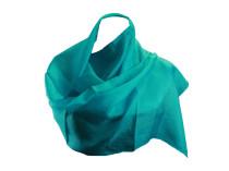 Шелковый платок цвета морской волны Oh La La