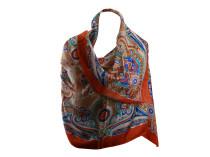 Шелковый платок с восточным мотивом Oh La La