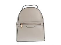 Элегантный бежевый рюкзак с молниями Oh La La