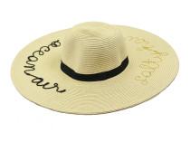 Пляжная шляпа, океан Oh La La