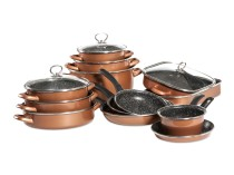 CopperLUX Набор кухонной посуды Full Delimano