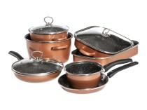CopperLUX Набор кухонной посуды Stone Legend Mega Delimano