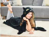 Покрывало с капюшоном «Черная кошка» Dormeo
