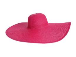 Розовая пляжная шляпа Oh La La