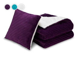 Набор из покрывала и подушки 3в1 Warm Hug Deluxe Dormeo