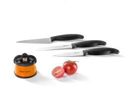 Brava Extreme Точилка + Комплект из 3 ножей Delimano