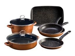 Stone Legend CopperLUX Набор кухонной посуды Master Delimano