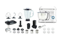 Кухонный робот-комбайн Pro (Белый) - в Рассрочку всего за 399 леев/месяц Delimano