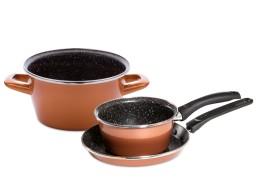 CopperLUX Набор кухонной посуды Масленица Delimano