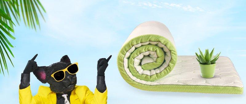 Топпер Aloe Vera 5 зон Dormeo