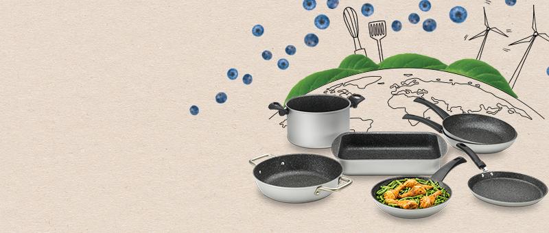 Посуда из линейки Green Planet