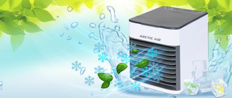 Охладитель воздуха Rovus Arctic Air Ultra - сейчас со СКИДКОЙ 40%!