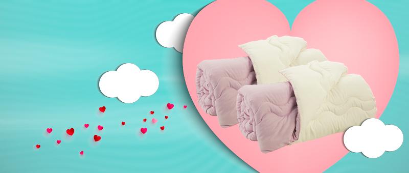 Одеяло Good Morning/Night - идеальный ПОДАРОК ко Дню Влюбленных!