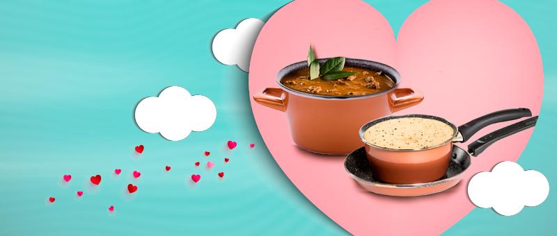 Набор кухонной посуды Масленица CopperLUX - идеальный ПОДАРОК ко Дню Влюбленных!