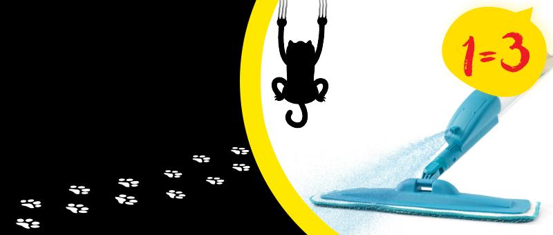 Только 3 Дня, Пятница 13 - 3 швабры-распылителя Rovus по цене 1!
