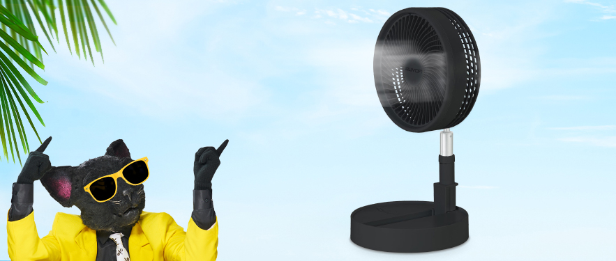 НОВИНКА! Беспроводной вентилятор Rovus