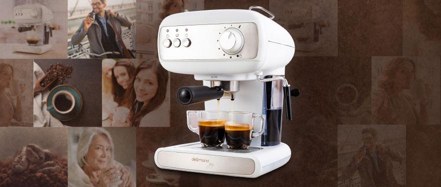 АКЦИЯ ДНЯ: Кофемашина Joy Espresso