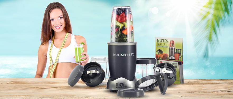 Экстрактор питательных веществ NutriBullet 12 частей - Самая Низкая Цена!
