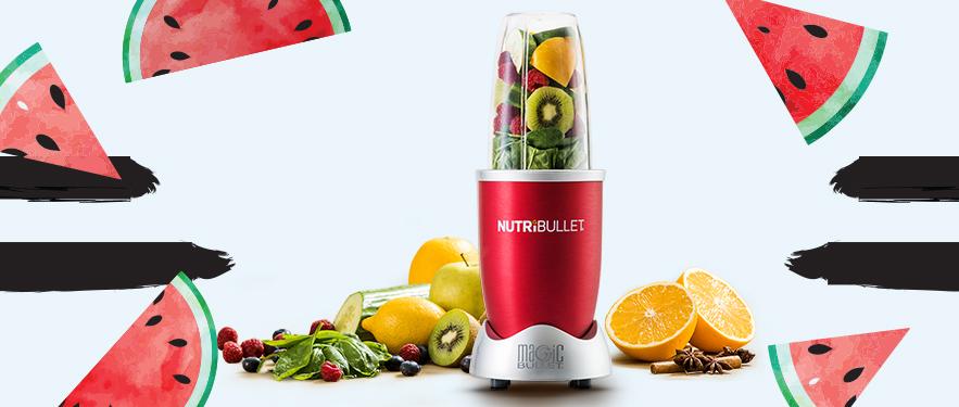 Экстрактор питательных веществ Nutribullet Красный - Самая Низкая Цена!