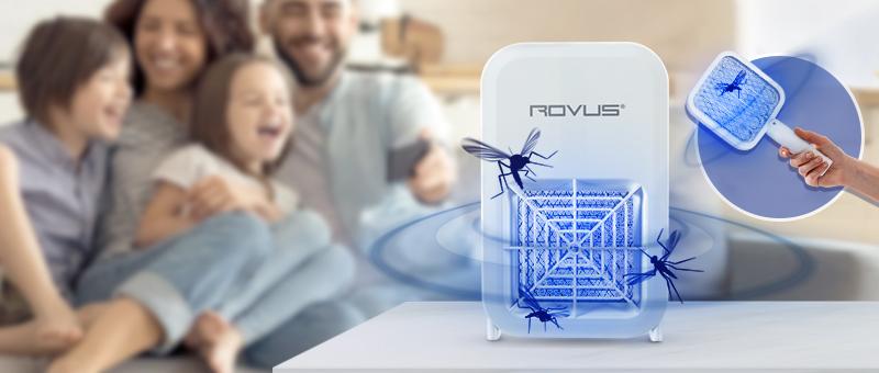 Устройство для уничтожения насекомых 2в1 Rovus