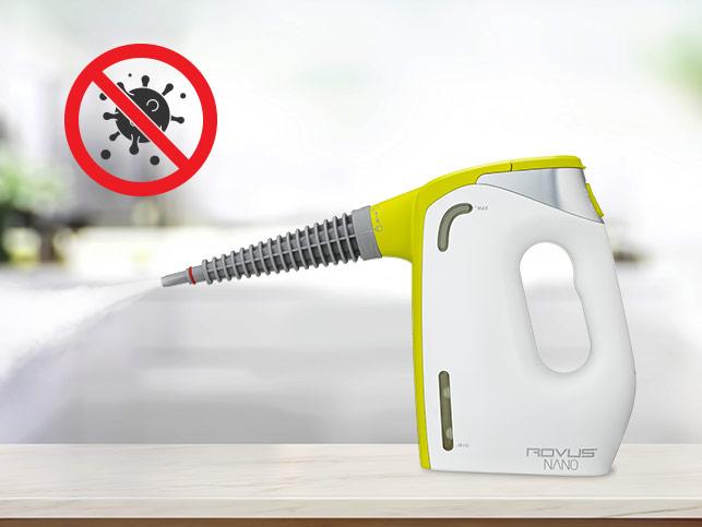 Ручной пароочиститель Rovus Nano