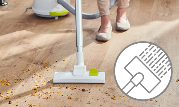 Пылесос для сухой уборки и всасывания жидкостей Rovus Nano