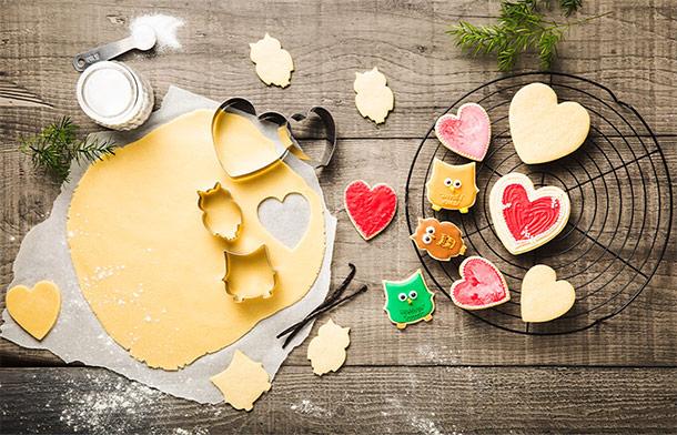Набор кулинарных форм Delimano Brava All Year Festive (15 шт.)