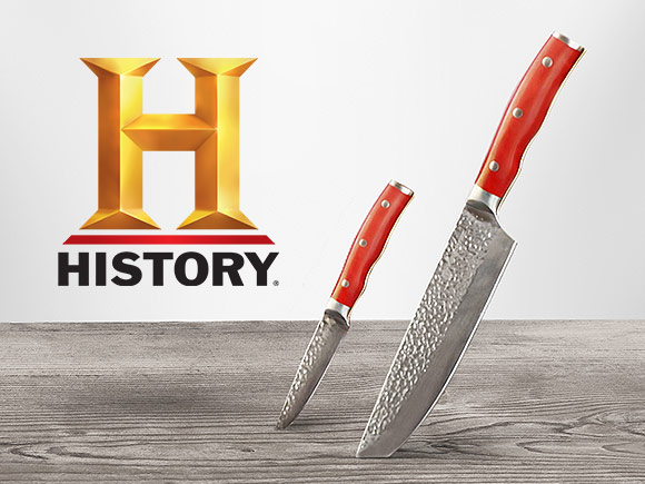 Набор ножей Delimano Chef Forged In Fire