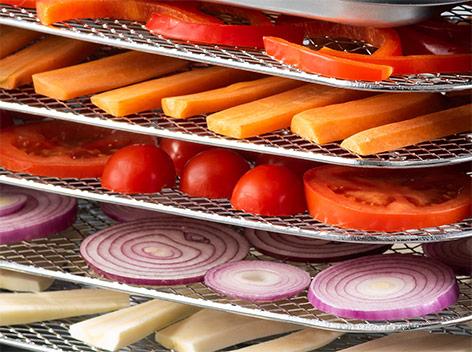 Сушилка для овощей и фруктов Delimano Deluxe Noir