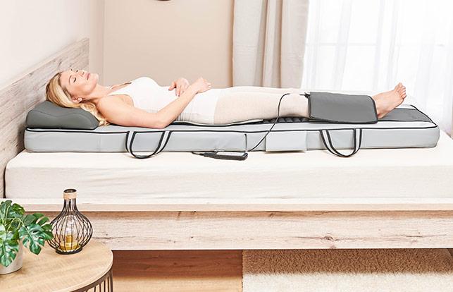 Массажная кровать 3в1 Шиацу Wellneo Deluxe
