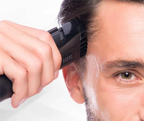 Вакуумный триммер для волос Wellneo