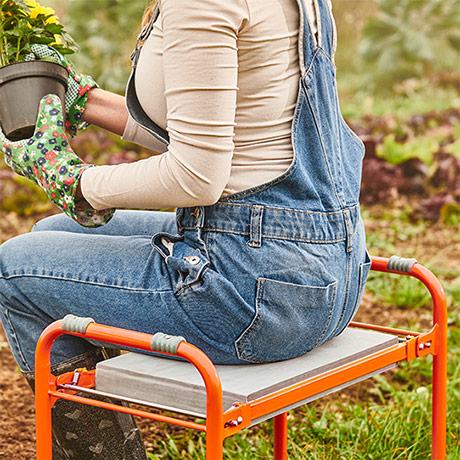 Складная садовая скамейка Top Shop
